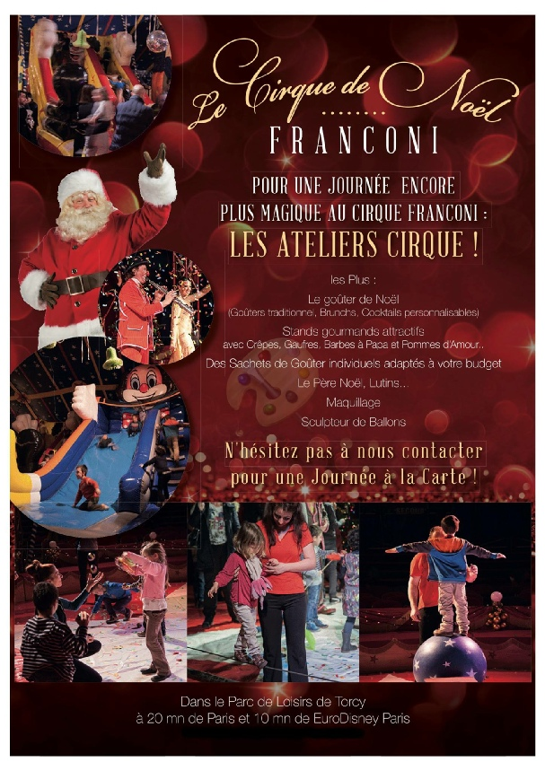 spectacle de noel 2018 a paris Cirque de Noël 2017 / 2018 spectacle de noel 2018 a paris